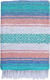 El Paso Designs – Pastel Mexican Yoga Blanket – 51 x 74 inches – Pastel..