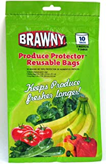 Brawny Produce Protector Reusable Bags