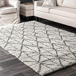 nuLOOM Keely Tiles Shag Rug, 8' 10