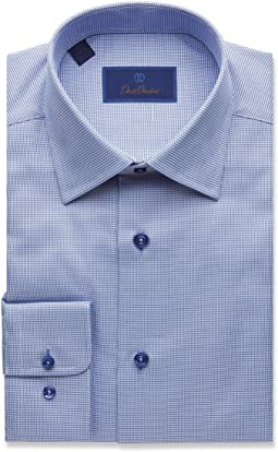 Regular Fit Micro Tonal Tic Dress Shirt
