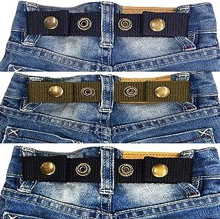 Sister Selected Adjustable Snap Belt for Baby/Toddler Boy & Girl Pant - 3 Pack: (No. 1)