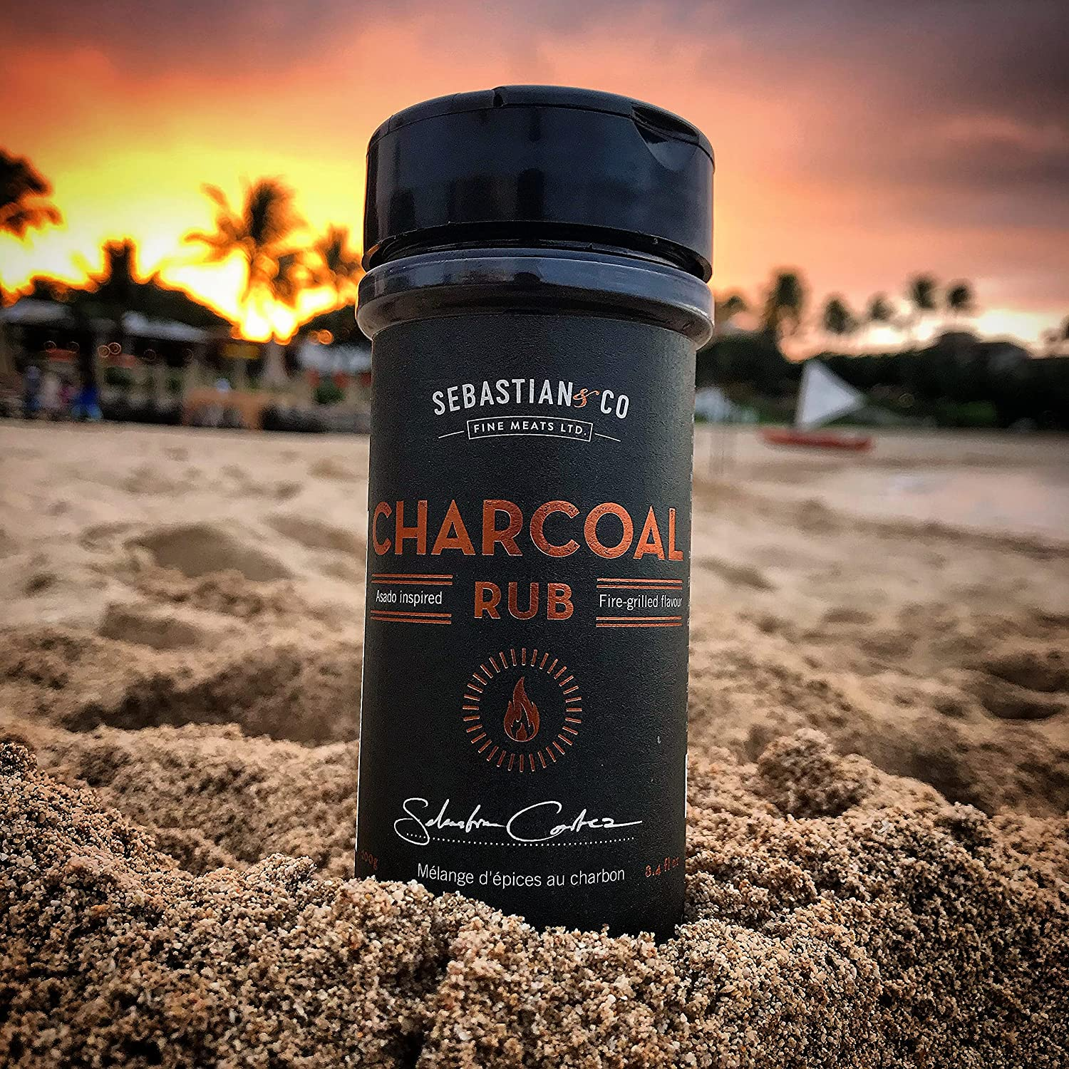 Sebastian Co Popular products Lowest price challenge Asado-Inspired Charcoal Rub