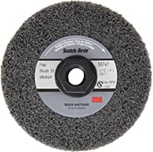 3 in Disc Dia Aluminum Oxide 8000 RPM Non-Woven Finishing Disc 22 Units