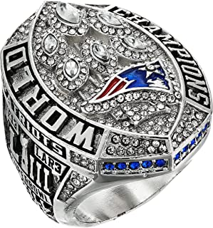 2019 Patriots Championship Ring with Box