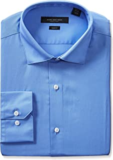 Marc New York Men's Slim Fit Solid Dress Shirt