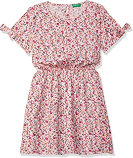 United Colors of Benetton Rayon Fit and Flare Casual Dress
