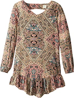 O'Neill Kids - Samantha Woven Long Sleeve Dress (Big Kids)