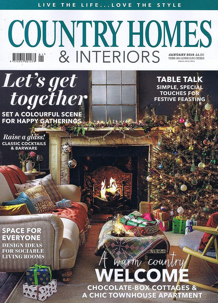 うまくいけばスペースオーロックCountry Homes & Interiors [UK] January 2019 (単号)