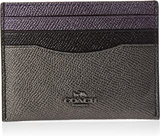 Coach Womens Card Case, Purple - 79465
