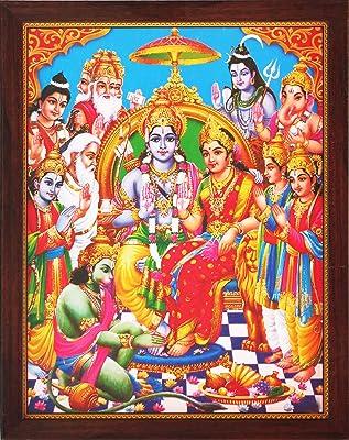 Amazon com - Hanuman Ram Darbar, A Hindu and Holy Religious