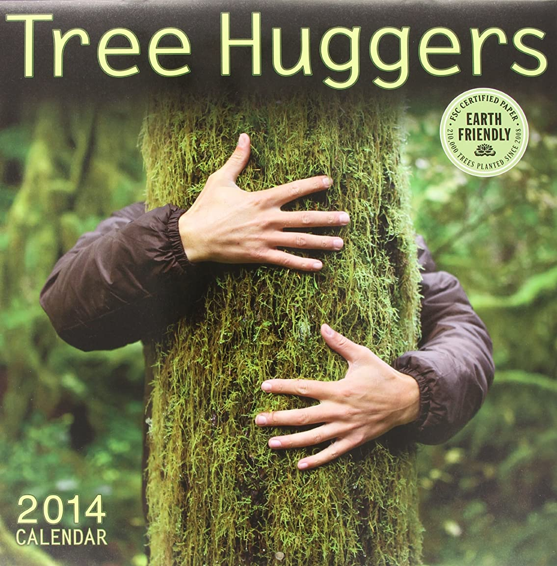 恐ろしいですポーズ森林Tree Huggers 2014 Calendar
