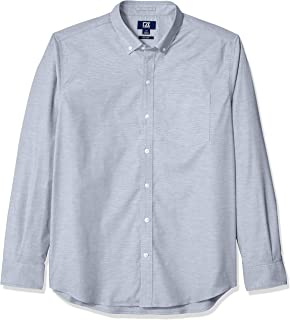 Sponsored Ad - Cutter & Buck Men's Epic Easy Care Stretch Oxford Stripe Button Down Shirt