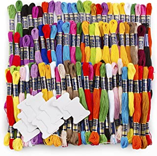 Darice, 117 Piece, Assorted Color Cotton Craft Thread