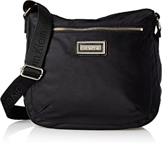 Calvin Klein Women's Belfast Nylon Messenger Bag