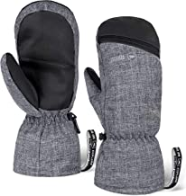 Winter Ski Mittens for Men & Women – Warm Snow Mitts for Cold Weather –..