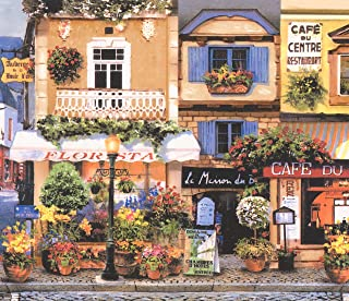 french cafe wallpaper