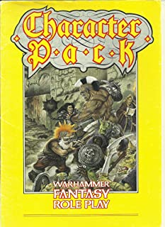 Warhammer Fantasy Roleplay Character Pack (Warhammer)