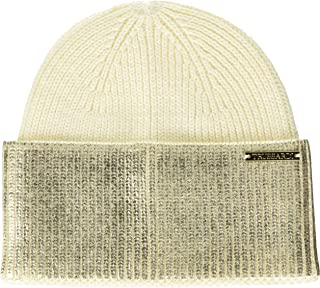 Trussardi Jeans Hat with Laminated Contrast