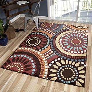 Orian Rugs Veranda Indoor/Outdoor Merrifield Collage Area Rug, 5'2