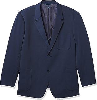 Men's Big & Tall Knit Textured Stretch Jacket