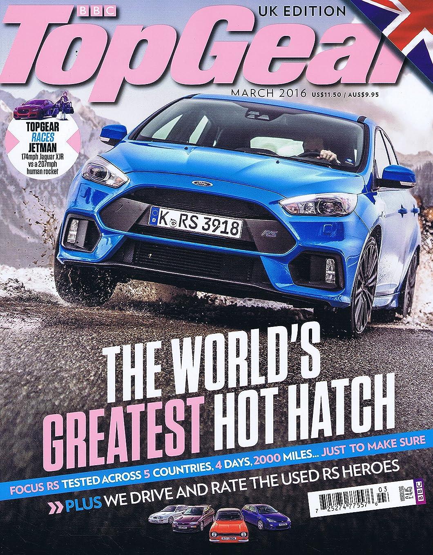 フレキシブル肉腫貸すBBC Top Gear [UK] March 2016 (単号)