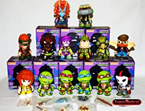 TMNT Ninja Turtles Full Set of 14 Figures Shell Shock Series 2 - Kidrobot