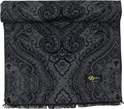 Men's 100% Cotton Winter Scarf, Soft Luxurious Warm Cashmere Feel Fashion Scarves by CANDOR AND CLASS