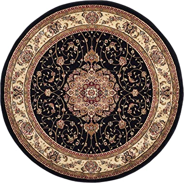 Safavieh Lyndhurst Collection LNH329A Traditional Oriental Non-Shedding Stain Resistant Living Room Bedroom Area Rug, 4'