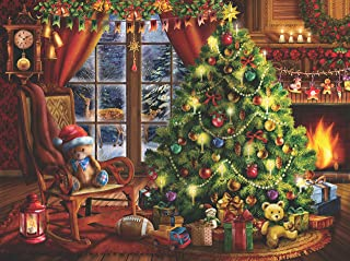 300 Piece Puzzle for Adults: Memories of Christmas- Made in the USA