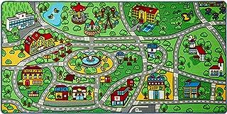 Click N' Play CNP30152 Non-Slip City Life Kids Playmat Rug, N/a, X-Large