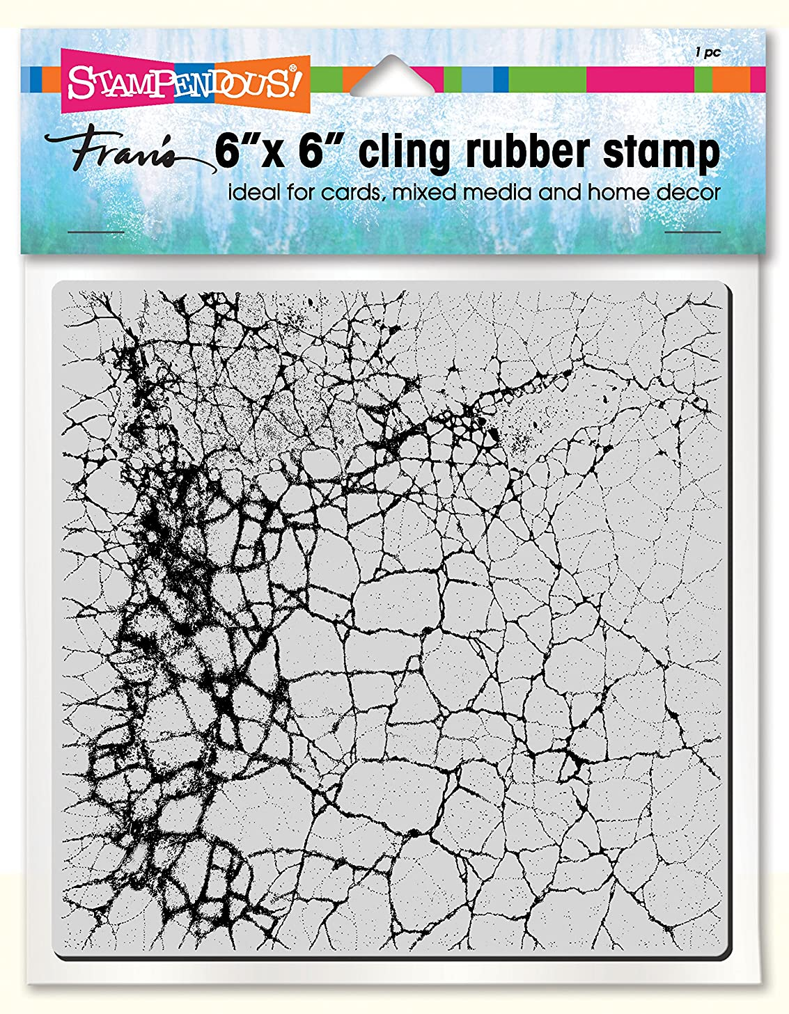 Stampendous 6CR002 Cling Stamp, Crackle