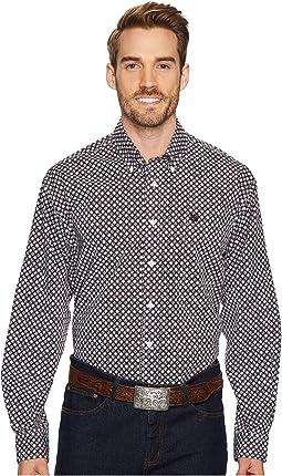 Cinch - Long Sleeve Plain Weave Print