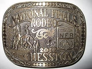 hesston belt buckles