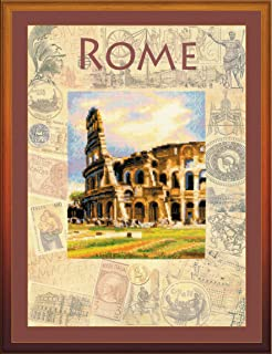 RIOLIS 0026 PT - Cities of the World - Rome - Counted Cross Stitch Kit 12