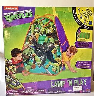Teenage Mutant Ninja Turtles Camp n' Play Hut Tent Nickelodeon