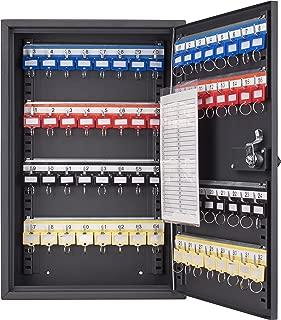 Barska Steel 64 Key Safe Cabinet with Combination and Key Lock Box