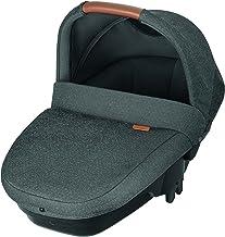 Bébé Confort Bébé Confort Amber Plus 'Sparkling Grey' - Cuco de seguridad, 0-6 meses, 10 Kg, color gris oscuro - Amber Plus Capazo, Color Sparkling Grey
