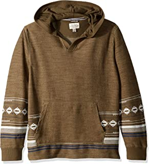 Boys' Long Sleeve Stripe Pullover Hoody