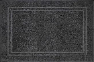 Grund Bath Rug, Ultra Soft, Absorbent and Anti Slip, Cotton, Pavia, 60x90 cm, Anthracite
