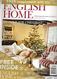The English Home (A Home For Christmas, December 2010)
