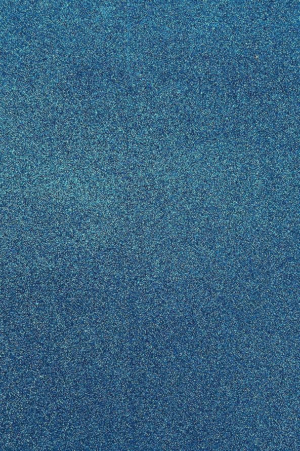 Allgala 12 Pack Glitter EVA Foam Paper 8 x 12inch Sheets-Blue-CF85014