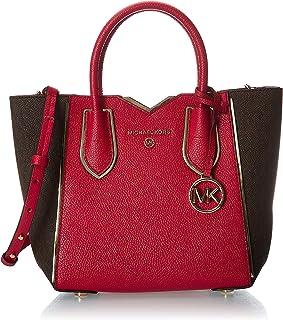حقيبة ماسنجر للنساء صغيرة من مايكل كورس، احمر فاقع - 30H9GM5M1B
