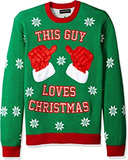 Men's Ugly Christmas Sweater Costume