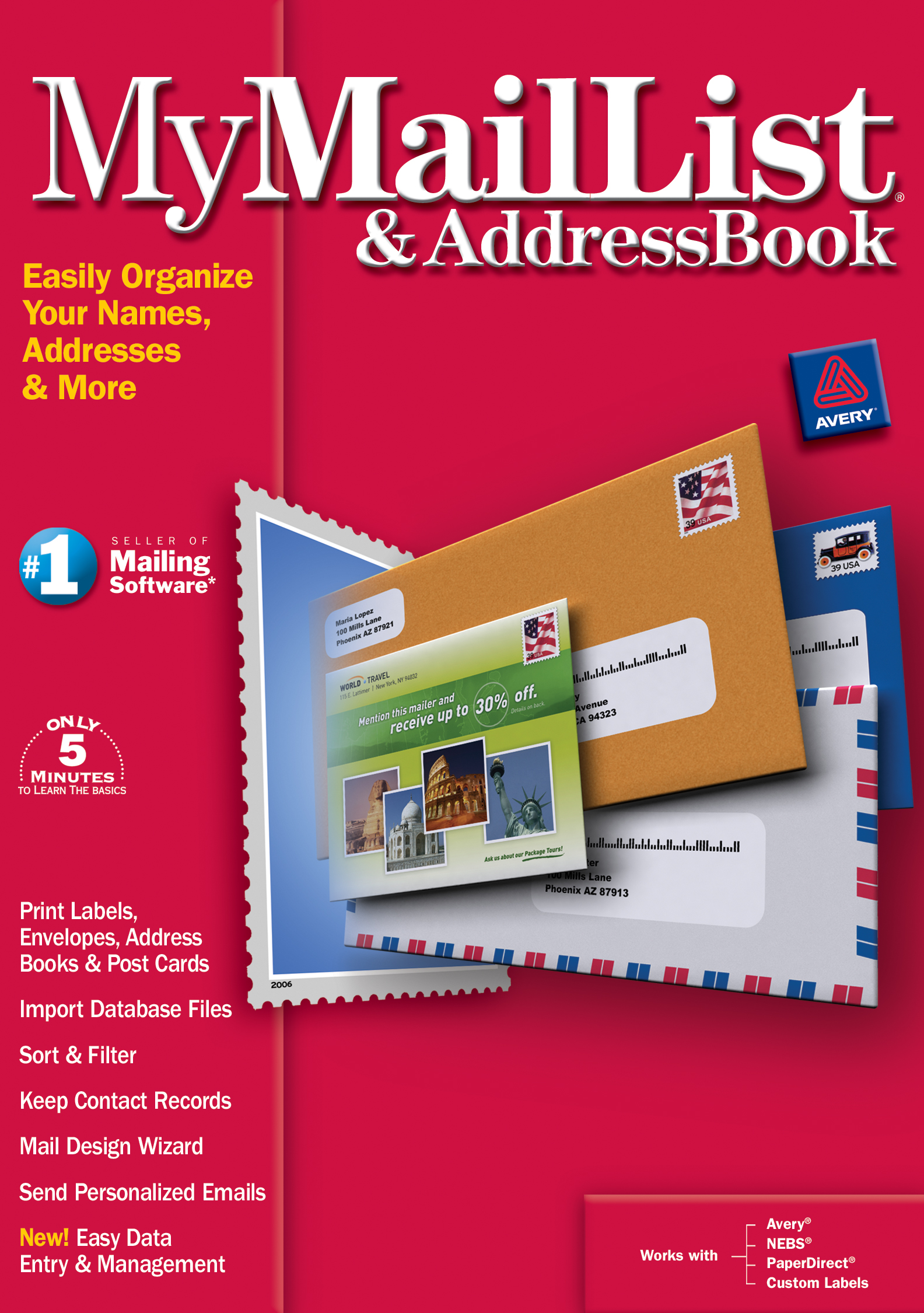 MyMailList & AddressBook 8 [Download]