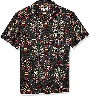Billabong Men's Sundays Floral Short Sleeve Woven Shirt Button Down Shirt