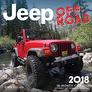 Jeep Off-Road 2018: 16 Month Calendar Includes September 2017 Through December 2018