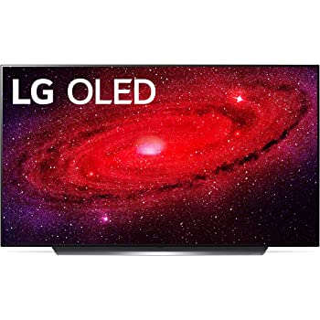 "LG OLED55CXPUA Alexa Built-In CX Series 55"" 4K Ultra HD Smart OLED TV (2020)"