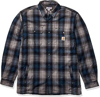 Carhartt Men's Tall Hubbard Sherpa Lined Shirt Jacket (Regular and Big & Tall Sizes)