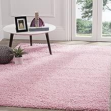 Safavieh Athens Shag Collection SGA119P Pink Area Rug (8' x 10')