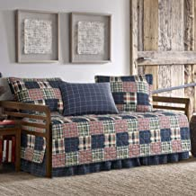 Eddie Bauer Madrona 5-Piece Daybed Cover Set, Twin, Red